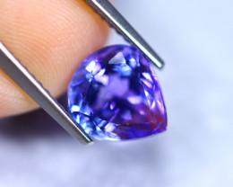 2.53cts Natural Violet Blue D Block Tanzanite / RD867