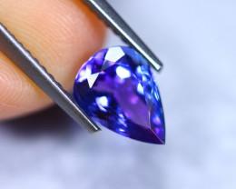 1.53cts Natural Violet Blue D Block Tanzanite / RD868