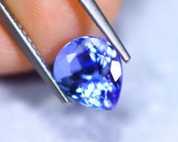 2.11cts Natural Violet Blue D Block Tanzanite / RD869