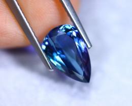 2.10cts Natural Violet Blue D Block Tanzanite / RD872