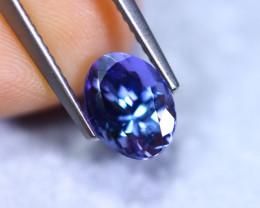 1.56cts Natural Violet Blue D Block Tanzanite / RD873