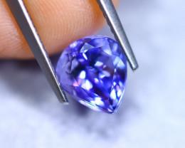 2.37cts Natural Violet Blue D Block Tanzanite / RD874