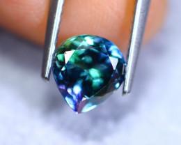 1.57cts Natural Violet Blue D Block Tanzanite / RD876