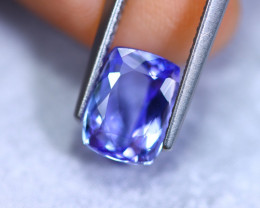 2.40cts Natural Violet Blue D Block Tanzanite / RD884