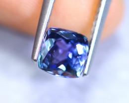 1.44cts Natural Violet Blue D Block Tanzanite / RD886