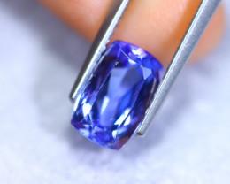 2.70cts Natural Violet Blue D Block Tanzanite / RD896