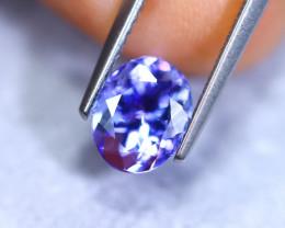 1.77cts Natural Violet Blue D Block Tanzanite / RD898
