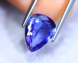 2.57cts Natural Violet Blue D Block Tanzanite / RD900