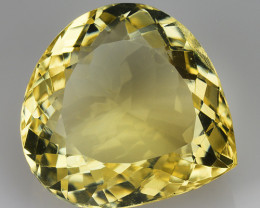 19.76 Ct Natural Citrin Top Quality Gemstone. CT 40
