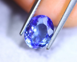 2.36cts Natural Violet Blue D Block Tanzanite / RD902