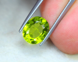 3.60ct Natural Green Peridot Oval Cut Lot V6431