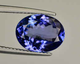 Natural Tanzanite 4.40 Ct AAA Color Top Quality ~ Gorgeous