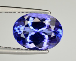 Natural Tanzanite 3.05 Ct AAA Color Top Quality ~ Gorgeous