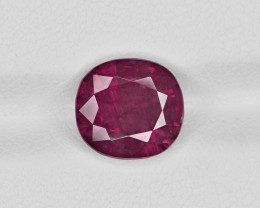 Pink Sapphire, 4.03ct - Mined in Kashmir | Certified by GIA