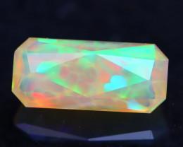 2.58Ct Designer Cut Honeycomb Natural Ethiopian Bright Color Welo Opal H76