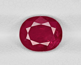Ruby, 2.39ct - Mined in Afghanistan | Certified by IGI