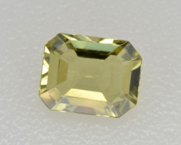Natural Chrysoberyl 0.81 Cts Faceted Gemstone Sri Lanka