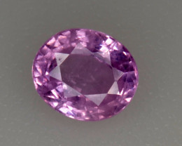Natural Pink Sapphire 1.02 Cts from Burma