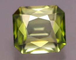 AAA Grade 4.09Ct Natural Excellent Cutting Green Tourmaline A2009