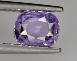 Natural Violet Sapphire 1.24 Cts from Sri Lanka