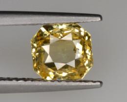 Natural Yellow Sapphire 1.62 from Sri Lanka