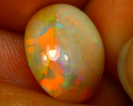 Welo Opal 3.35Ct Natural Ethiopian Play of Color Opal E2332/B28