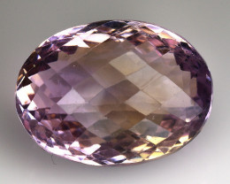 20.81 CT BOLIVIAN AMETRINE TOP CLASS LUSTER GEMSTONE AM7