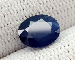 1.65CT NATURAL BLUE SAPPHIRE HEATED  BEST QUALITY GEMSTONE IIGC03