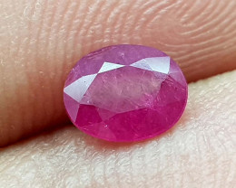 0.75Crt Ruby Natural Gemstones JI103