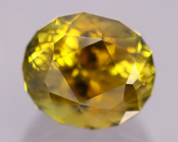 AAA Grade 4.93Ct VVS Master Cutting Golden Yellow Tourmaline AN203