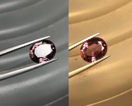 3.58ct GFCO Certified Color Change Garnet