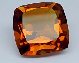 12.65Crt Madeira Citrine Stone JICT12