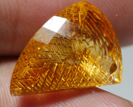11.625CRT BEAUTY CRAFT YELLOW CITRINE -