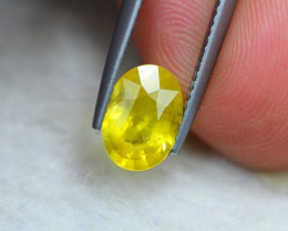 2.00ct Natural Yellow Sapphire Oval Cut Lot V7785