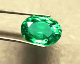 1.35 ct Beautiful Zambian Emerald Certified!