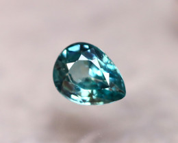 Blue Zircon 1.77Ct Natural Greenish Blue Cambodian Blue Zircon E2531/B6