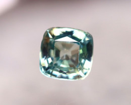 Blue Zircon 2.45Ct Natural Greenish Blue Cambodian Blue Zircon E2532/B6