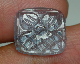 6.030 CRT BEAUTY CARVING AQUAMARINE-