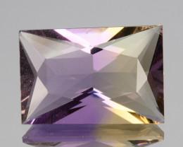 3.20 Cts Natural Bi-Color Ametrine Fancy Princess Cut Bolivia