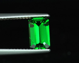 1.60CT TOP COLOT MASTER CUT NATURAL TSAVORITE GARNET $1NR