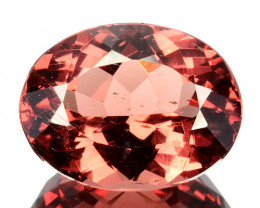 9.98Ct Natural Peach Red Apatite Oval Brazil