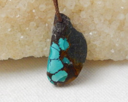 22.5cts Turquoise Pendant ,Natural Gemstone ,Turquoise Nugget Pendant F494
