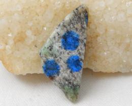 73.5cts Raw Lapis Specimen ,Handmade Gemstone , F499