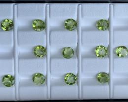 14.05 Carats  Peridot Gemstones Parcels