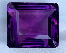 17.56 Carats Amethyst  Gemstones