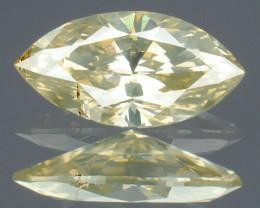 IGR Certified Natural Greyish Yellow Diamond I1 - 0.30 ct