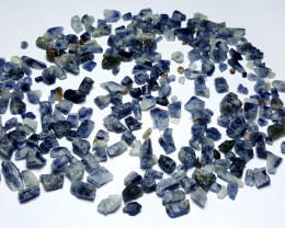 Amazing Natural Blue color Sapphire crystals rough lot 250Cts S.H.S#1