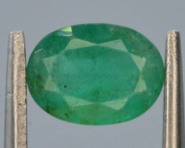 AAA Grade Top Color 1.10 ct Zambian Emerald