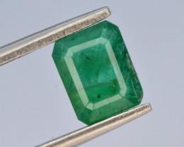 AAA Grade Top Color 1.40ct Zambian Emerald