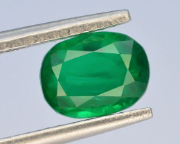 Top Grade & Clarity 1.50 ct Natural Vivid Green Color Emerald~Swat ~G I